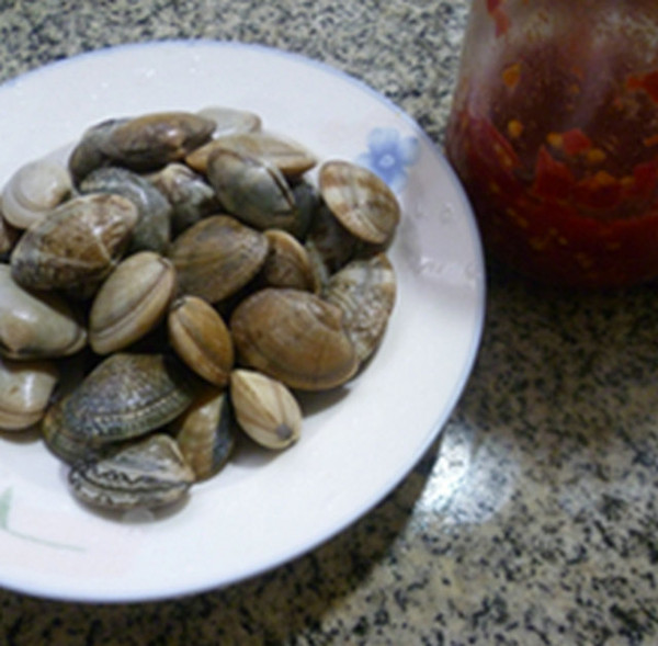 花蛤炒蒲瓜的做法图解