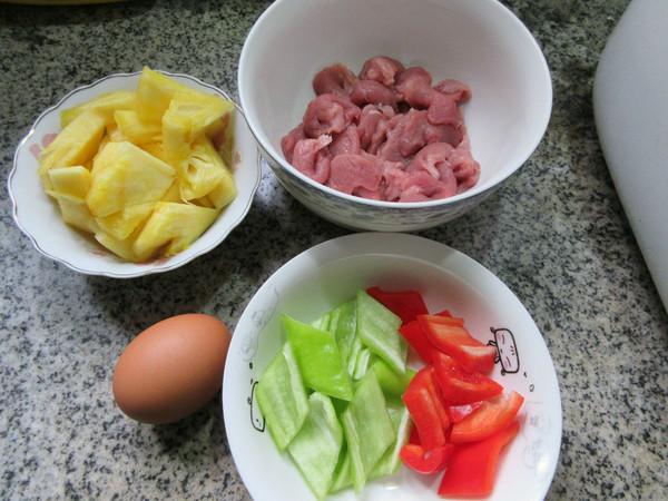 菠萝里脊肉的做法大全