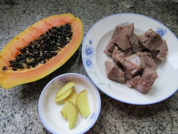 肉骨木瓜汤的做法大全