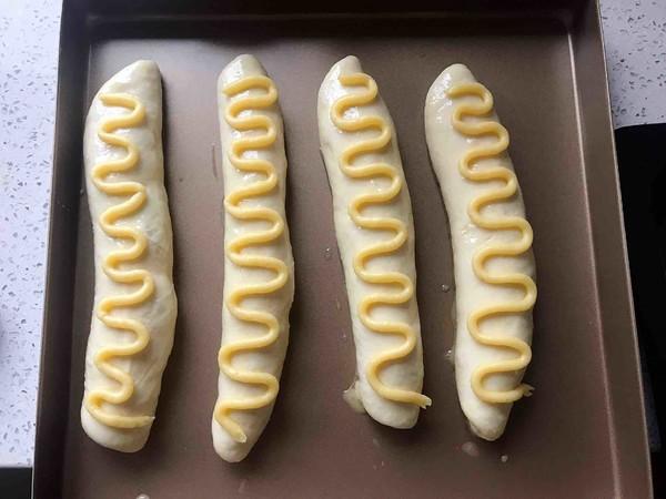 毛毛虫面包的制作方法