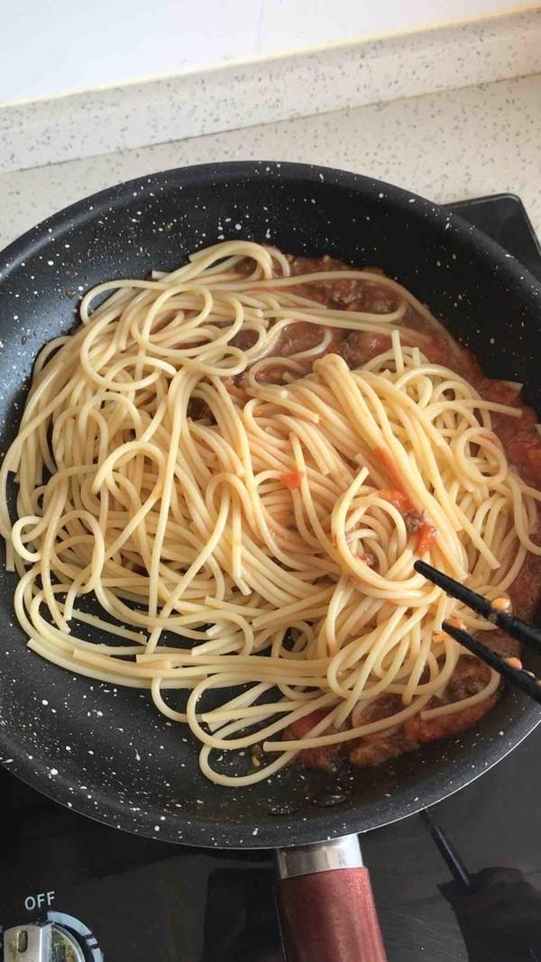 番茄牛肉酱意面怎么煮