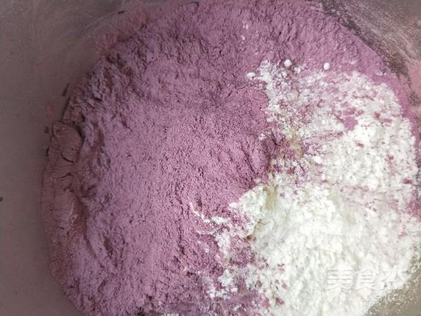 紫薯发糕的家常做法
