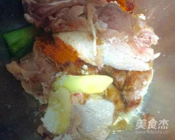 咖喱烤鸡腿盖饭的家常做法