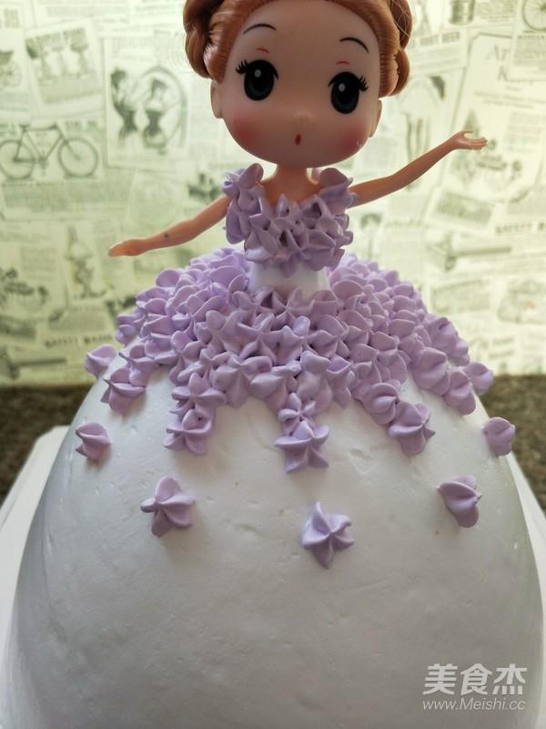 芭比娃娃蛋糕怎么吃