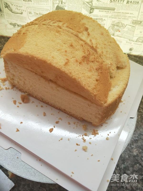 小汽车蛋糕的做法图解