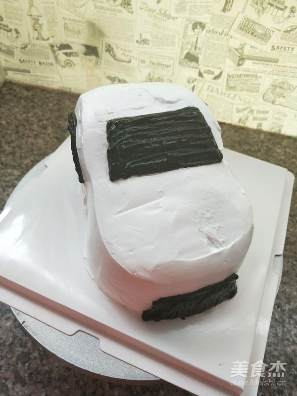 小汽车蛋糕怎么炒