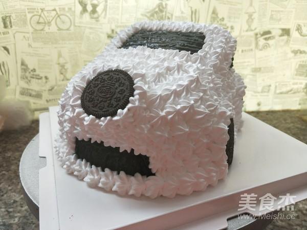 小汽车蛋糕怎么炖