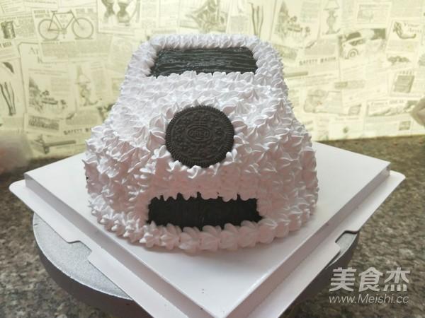 小汽车蛋糕怎么煸