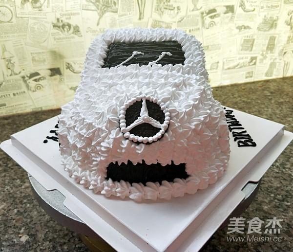 小汽车蛋糕怎样煸