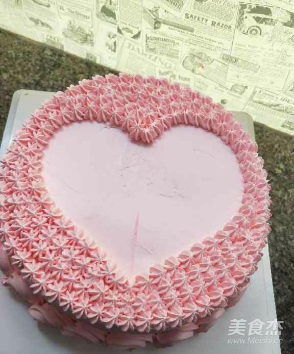 水果爱心蛋糕怎么炖