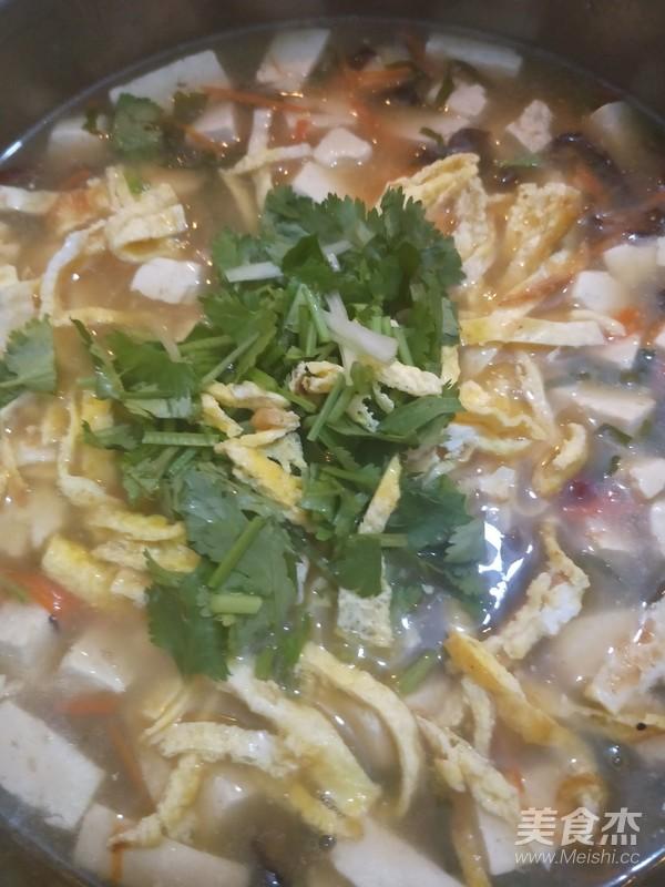 酸辣豆腐汤怎样炒