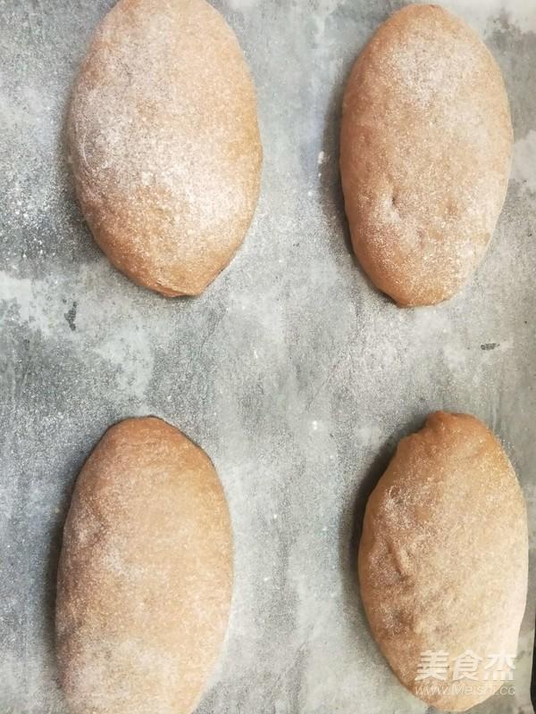果仁麻薯欧包的制作