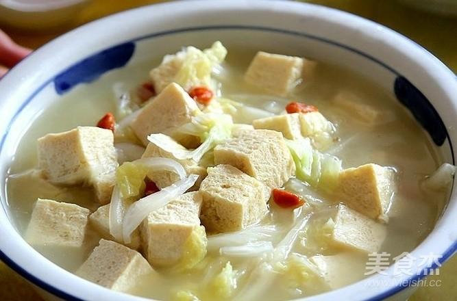 酸菜冻豆腐炖粉条怎么吃