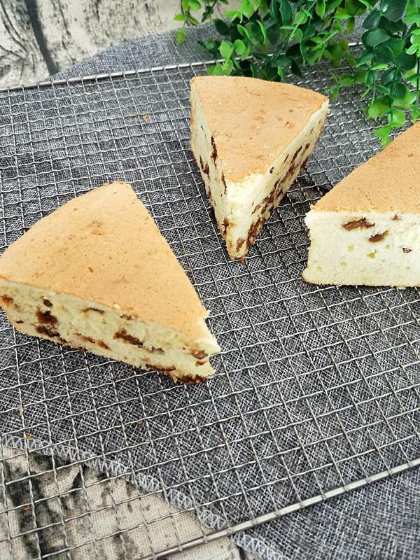 红枣戚风蛋糕的制作方法