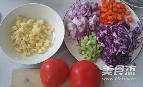 牛肉罗宋汤的做法图解