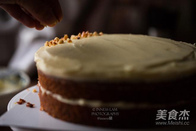 经典胡萝卜蛋糕 胡萝卜的华丽变身的制作方法