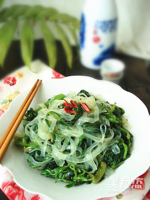 凉拌菠菜怎样做