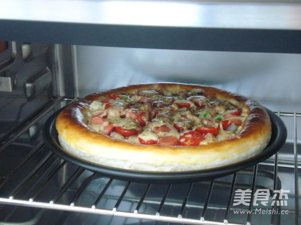 自制披萨怎么煸