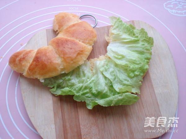 玉米沙拉牛角包的做法图解