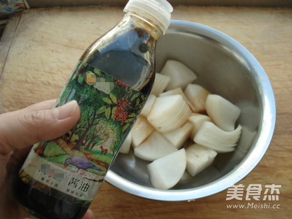 酱油腌萝卜怎么煮
