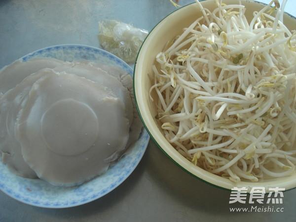 绿豆芽炒贯肠的做法大全