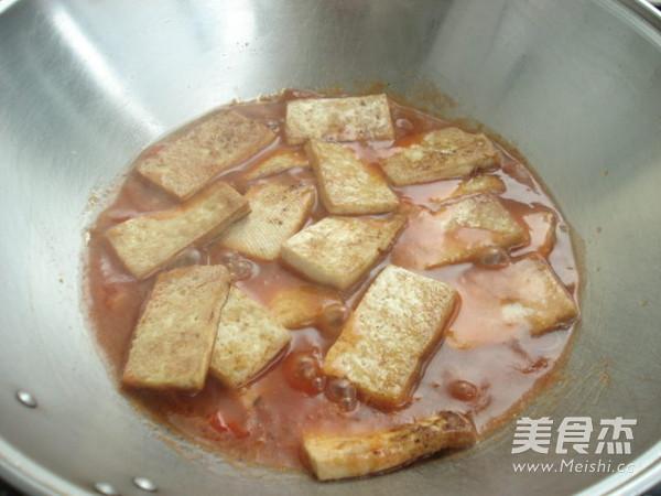 茄汁烧豆腐怎么煸