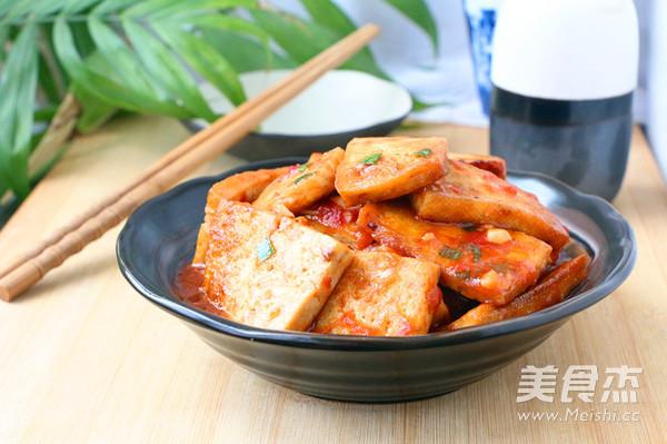 茄汁烧豆腐怎样做