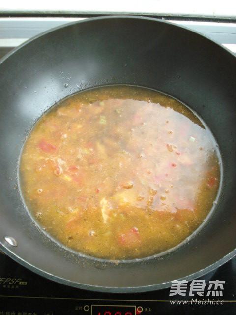 番茄热汤面怎么吃