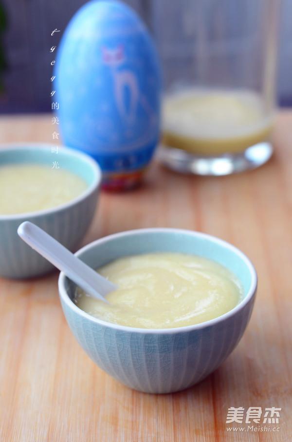营养蛋黄小米糊怎么炒
