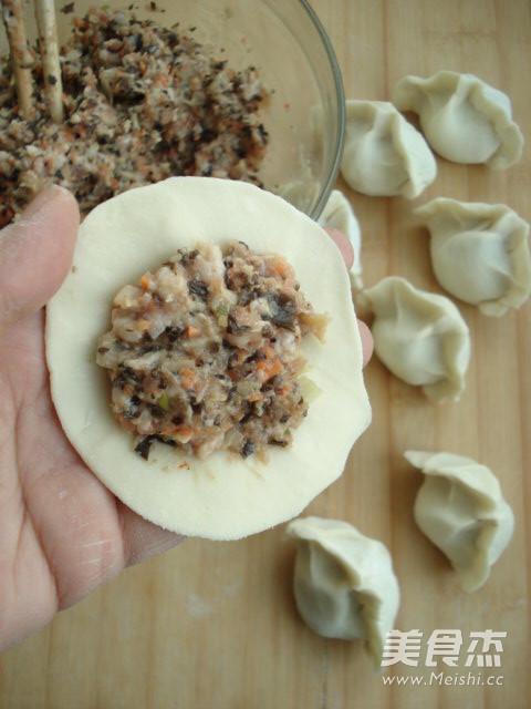 木耳胡萝卜饺子的简单做法