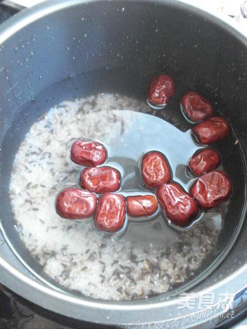 杂粮红枣粥的家常做法