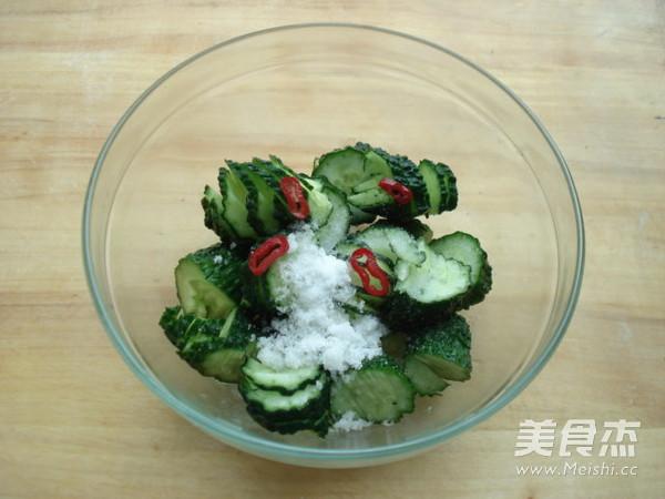 糖醋腌黄瓜的简单做法
