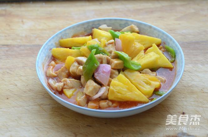 菠萝鸡丁怎么煮