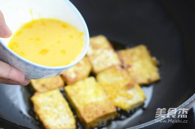 锅塌鸡汁豆腐怎么做