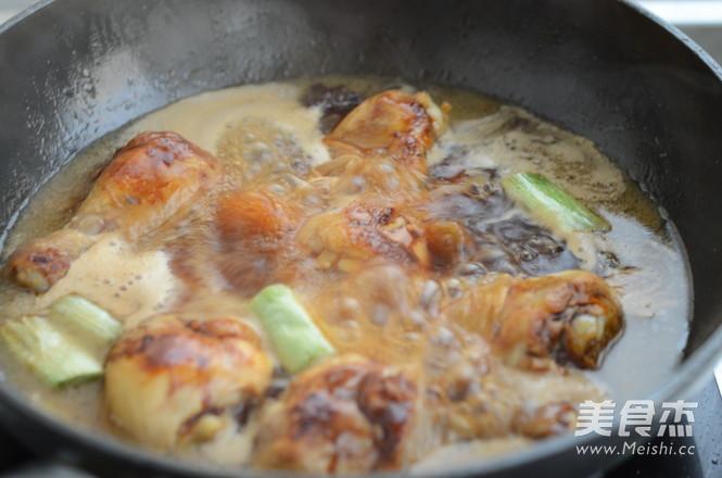 红烧鸡腿怎么煮