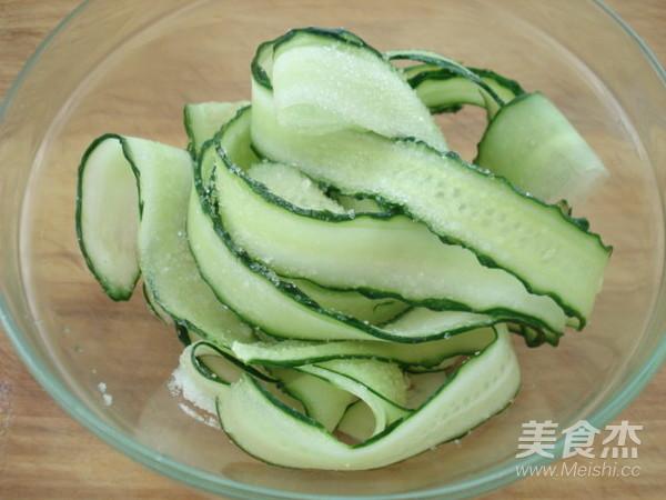 芥末黄瓜卷的家常做法