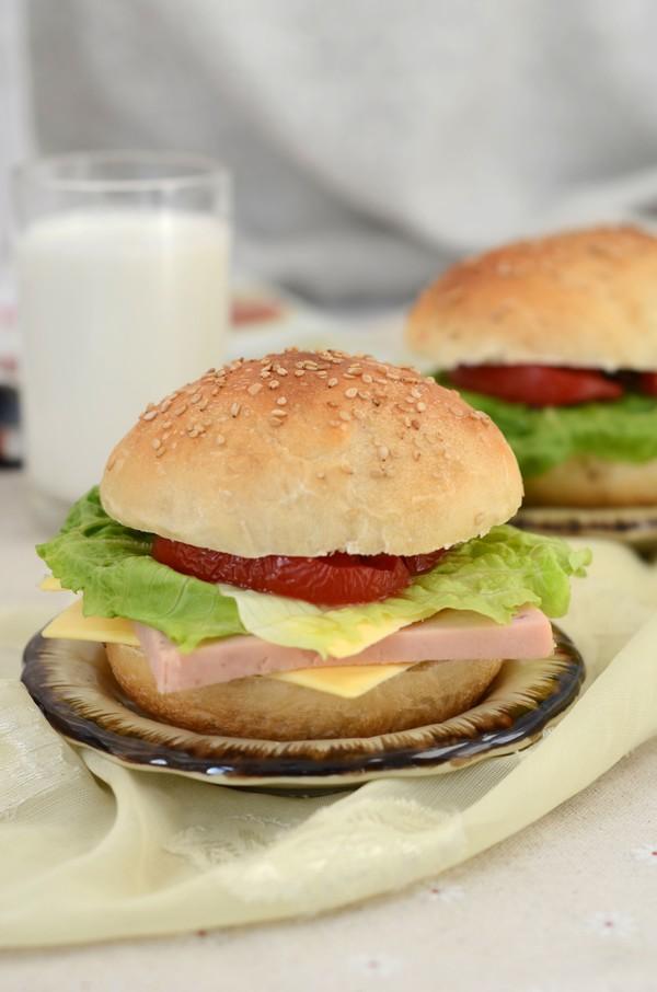 汉堡包怎么煮