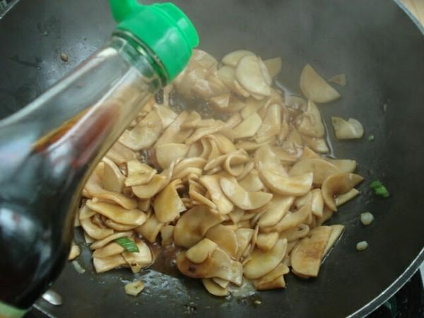 蚝油杏鲍菇。怎么吃