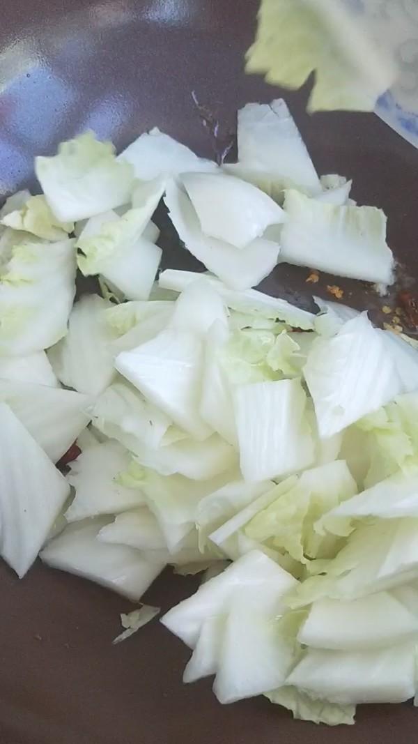 醋熘白菜的简单做法