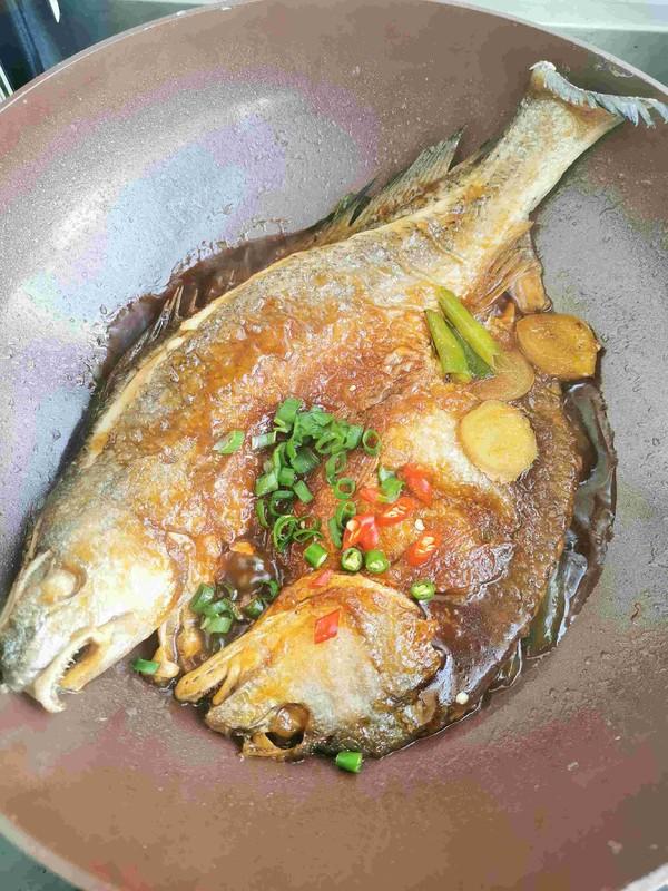 红烧大黄鱼怎么炒
