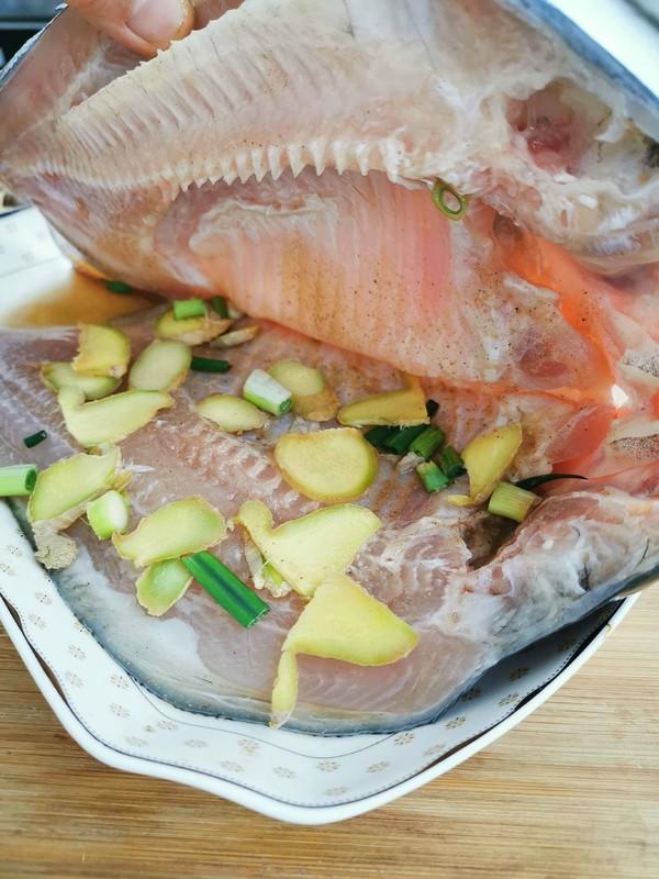 清蒸红石斑鱼的家常做法