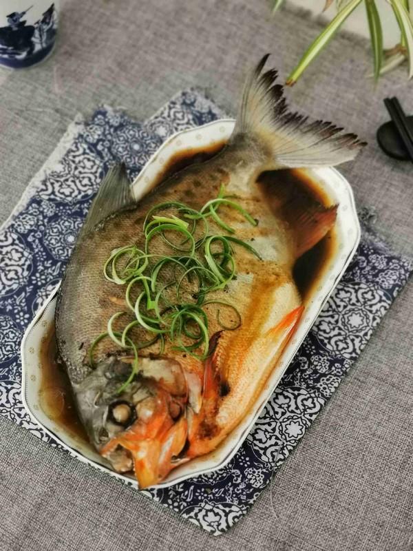 清蒸红石斑鱼成品图