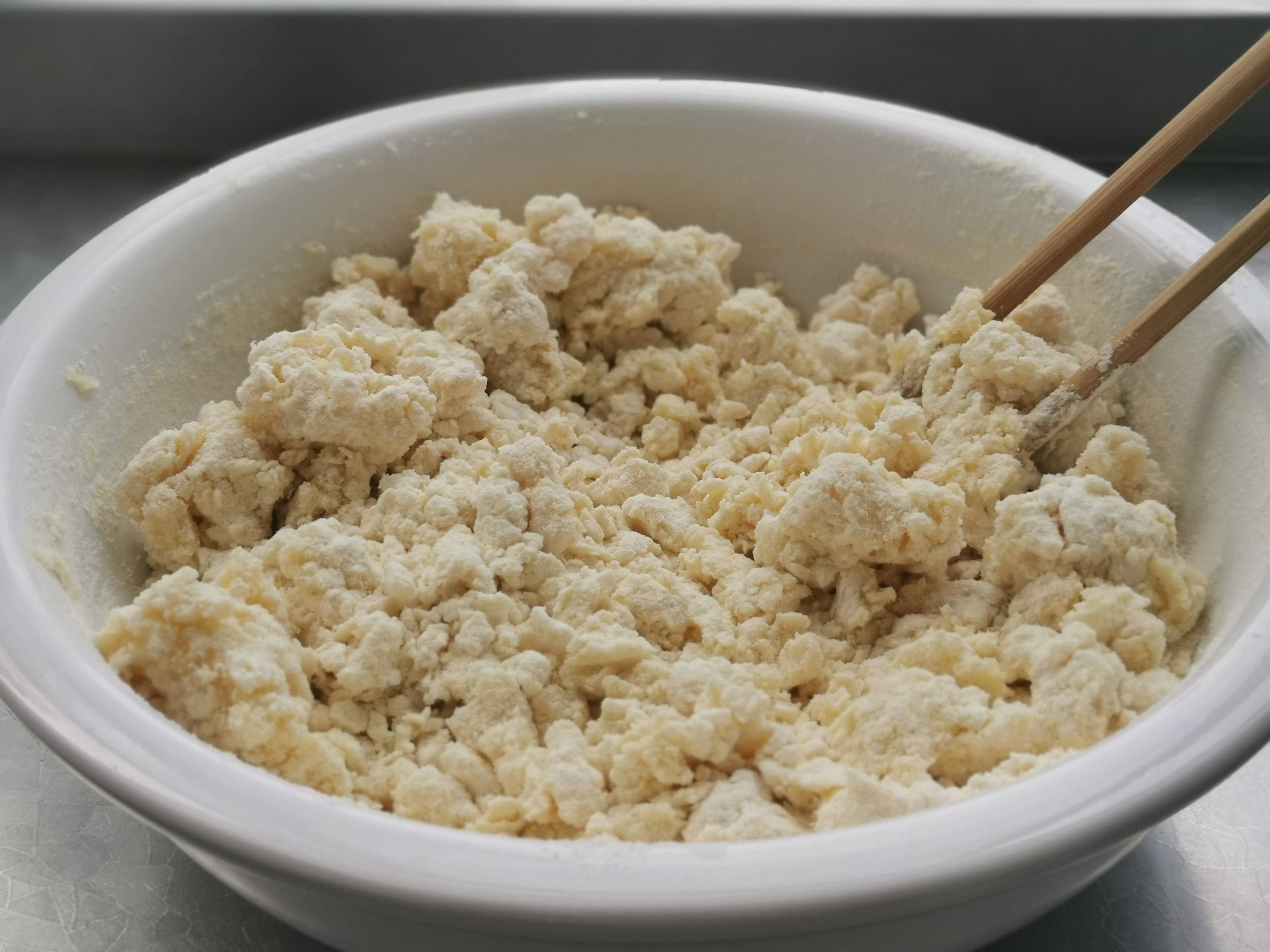 烫面蟹粉蒸饺的步骤
