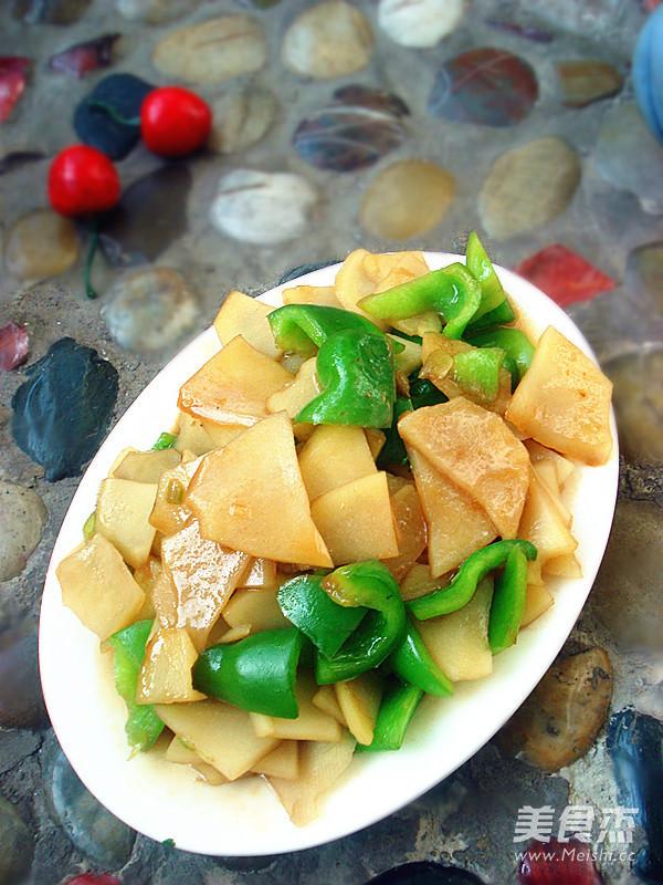 土豆片炒青椒怎么做