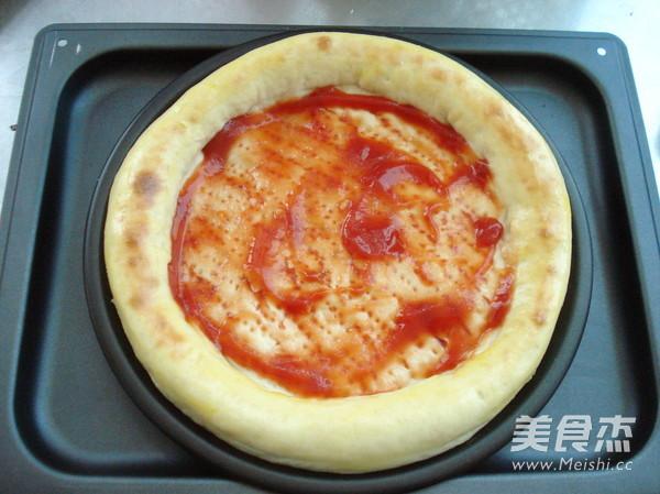 自制披萨怎么炒