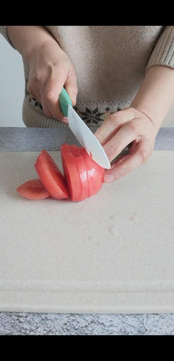 番茄鸡蛋年糕汤的做法图解
