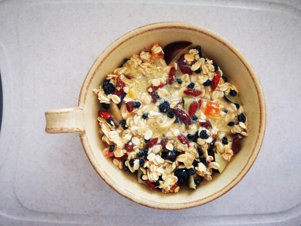 快手美食:黑布林烤麦片怎么做
