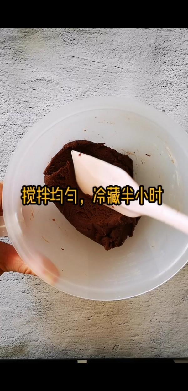 一看就会,超萌零难度巧克力小饼干的简单做法