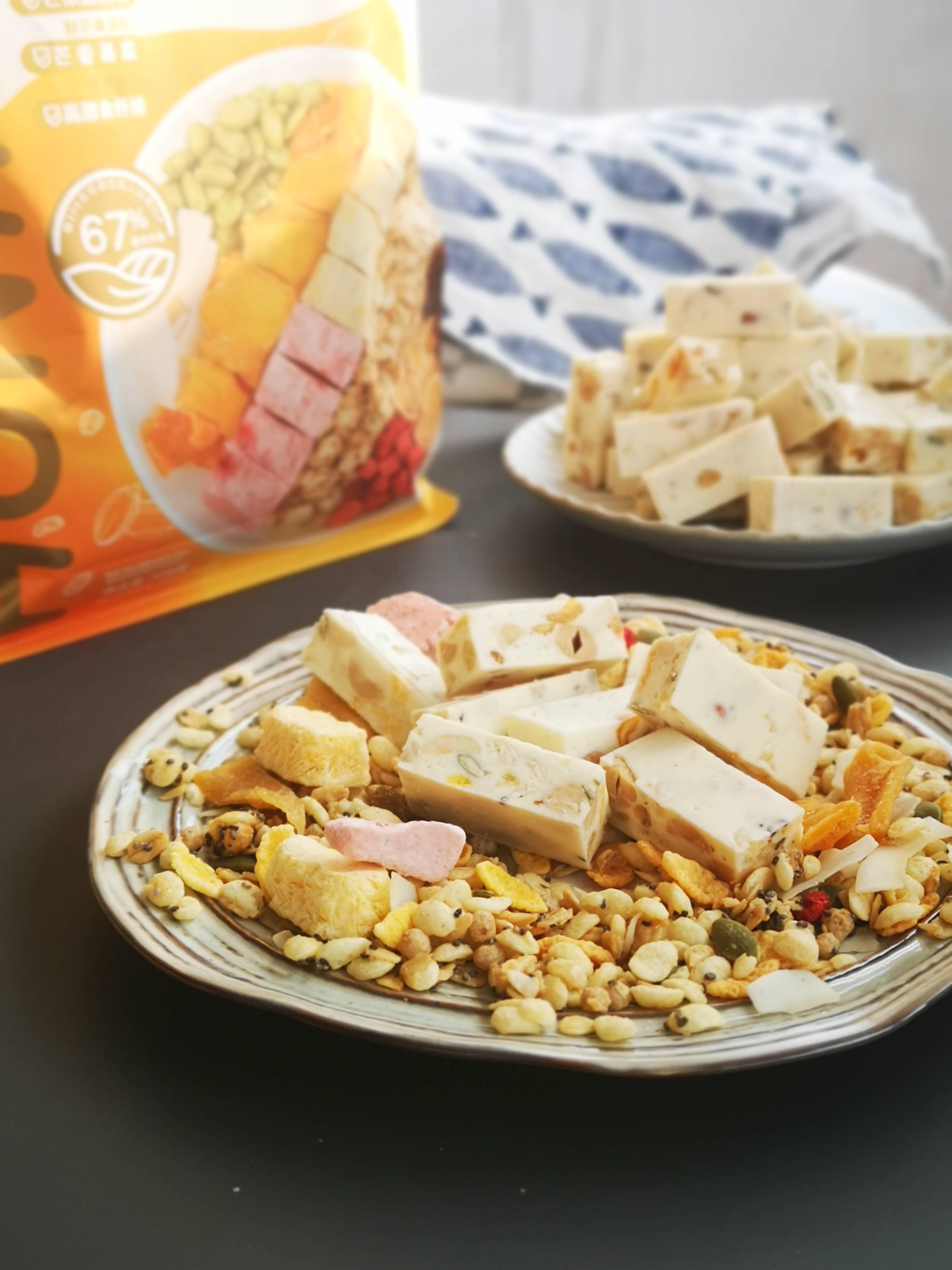 麦片做进糖,你从来没有试过的吃法成品图