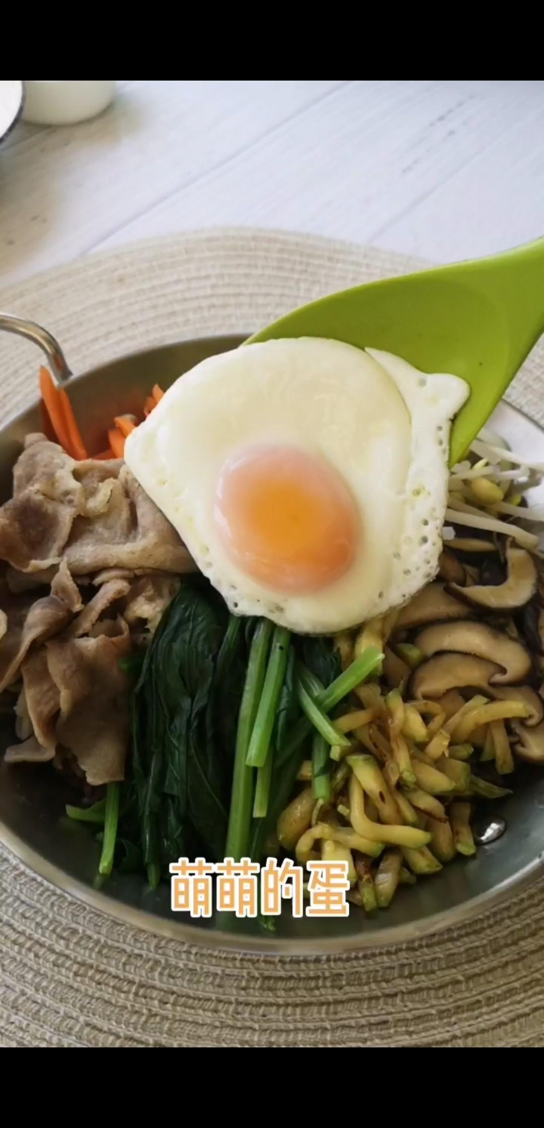 杂粮韩式拌饭怎么煮